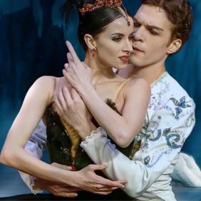 le lac des cygnes de l'opéra de Russie